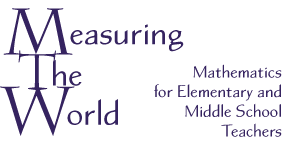 Measuring the World logo